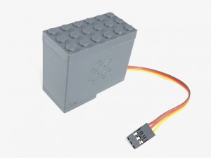 Servo Motor for Original Lego Switches