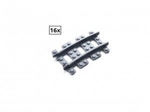 Narrow Curved Track R48 Set 16x (Half Circle)