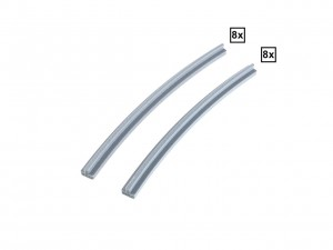 Curved Rails R40A + R40D Set 8x + 8x