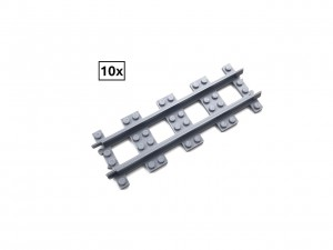 Narrow Straight Track Set 10x