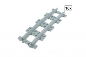 Narrow Curved Track R84 Set 16x (Half Circle)