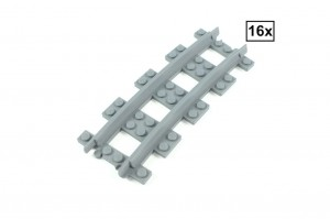 Narrow Curved Track R72 Set 16x (Half Circle)