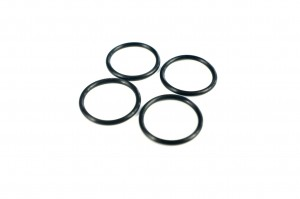 Rubber Wheel Rings - 4pcs